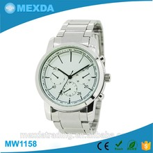 Newest design stainless steel case japanese wrist watch brands