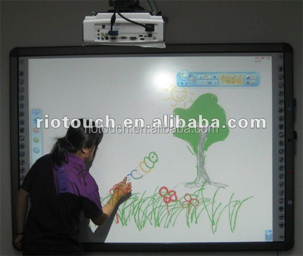 OEM IR touch smart board no projector interactive whiteboard with USB