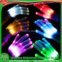 Led light up glove flashing magic gloves for halloween