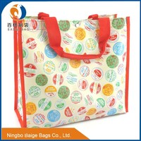 recycling cheap promotional matt glossy laminated woven shopping bags