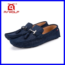 wholesale fashion new pure leather mens loafers shoe 2016