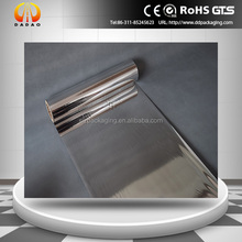 metallized silver PET film for solar collector reflector