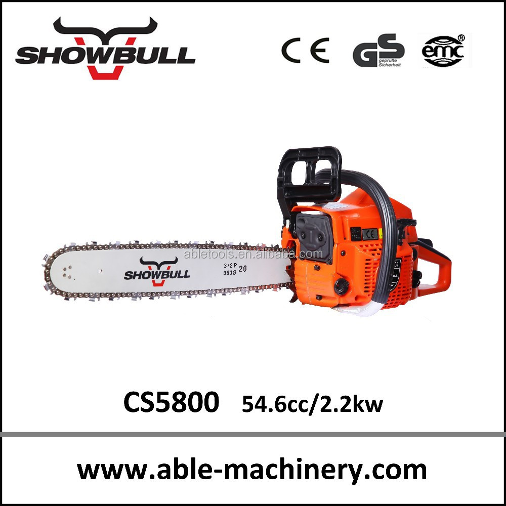zm5280 sthl haus good quality gasoline chain saw for home and farm wood cutting