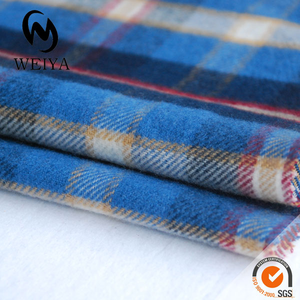 polyester cotton flannel shirt