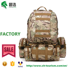 wholesale waterproof duffle mulipurpose travel hiking CP camo camping backpack bag military tactical