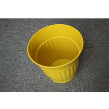 large size Rainboo bamboo fiber plastic biodegradable flower pot