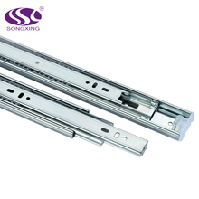 High quality ball bearing 45mm iron drawer guide