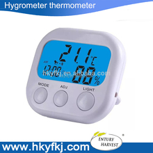 Best price backlight thermo-hygrometer Mini digital Indoor car Thermometer with Hygrometer temperature monitor