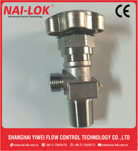 CNG bottle gas bottle valve stainless steel cylinder valve