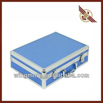 Aluminum tool case,Custom cardboard suitcase,Hard case tool box-WM320