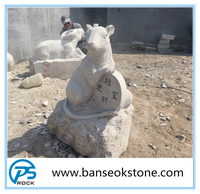Factory Price Small Stone Animal Carving Sculpture