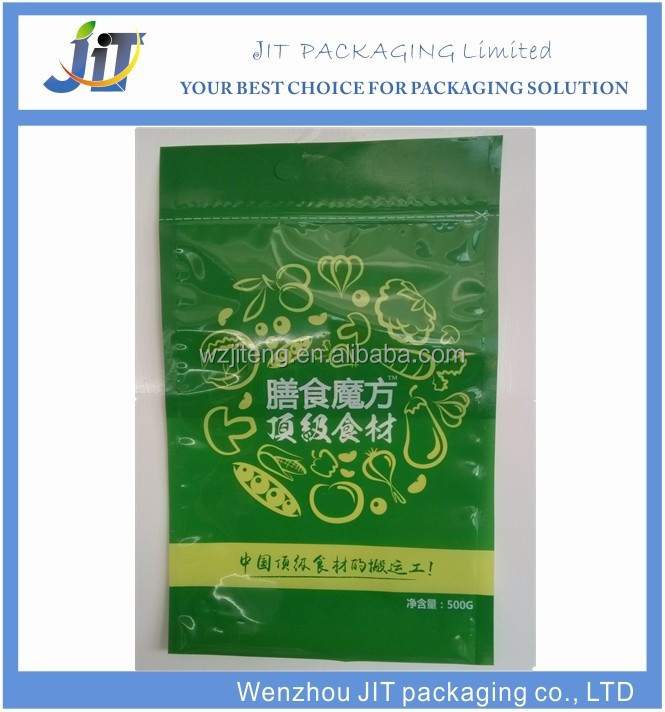 Direct manufacturers customized printing food plastic packaging