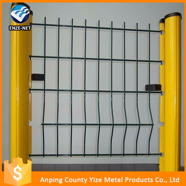 welded wire mesh fence panels in 12 gauge/wire mesh fence fasteners