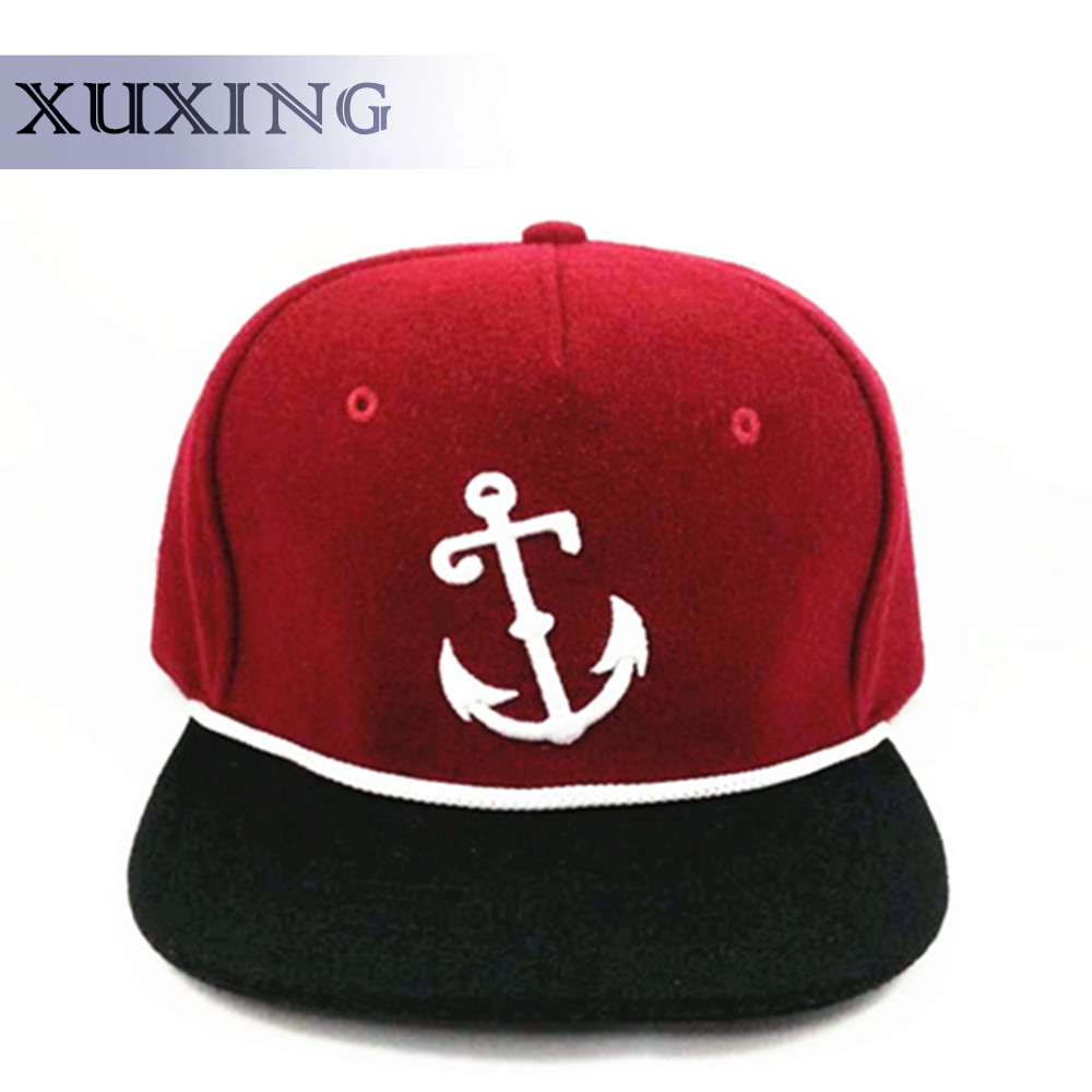 fashion wool Unisex design your own custom 3d embroidery rope snapback