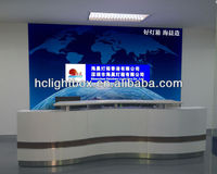 Company Name Board signs wall mounted led Light Box and aluminum sign light box