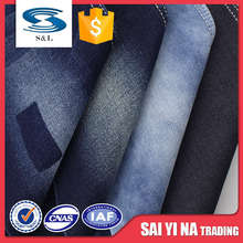 ASIA80 China Factory High Quality 346gsm Different Types Denim Jeans Fabric