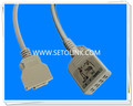 Nihon Kohden 20 Pin ECG Trunk Cable Manufacture in ShenZhen