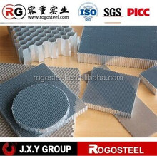 Side length 1.83mm-15mm pp pc the plastic honeycomb core with A3003