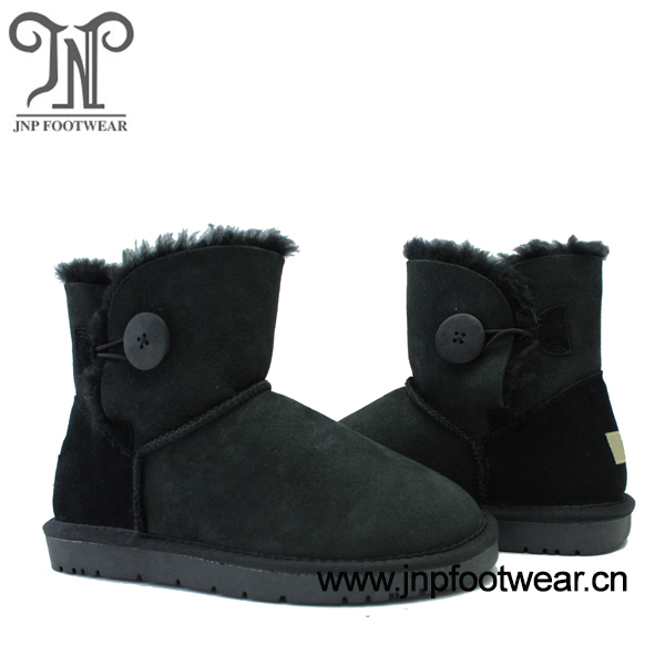 3352 sheep warm wool ankle boots for men