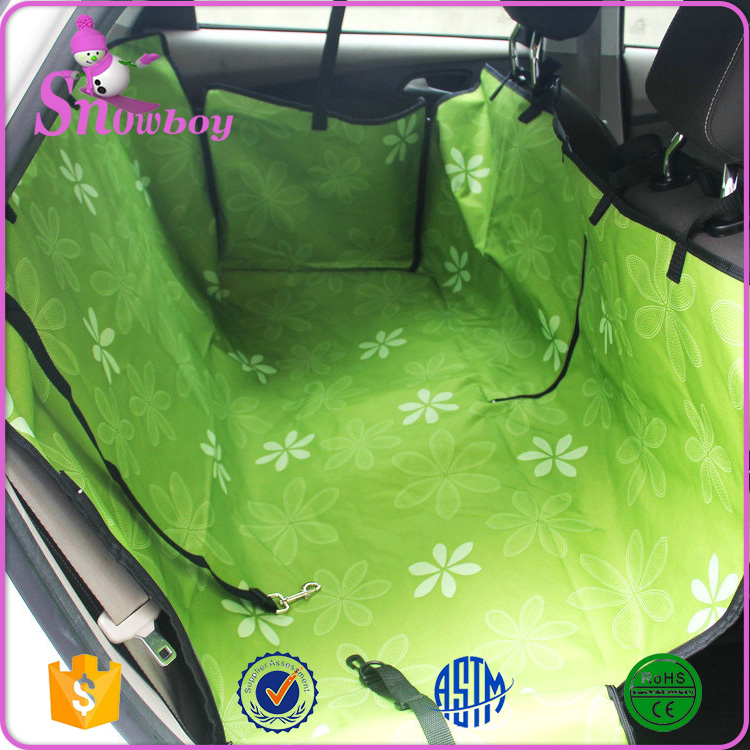 Pet Car Mats Split Rear Double Car Seat Cover for Dogs Hammock Option accessories
