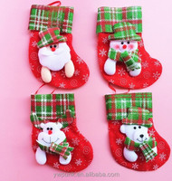 Christmas Socks Stocking Personalized Christmas Stockings Sock Tree Green Deer Charm Decorations Party Festive Supplies Ornament