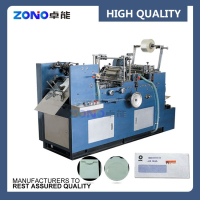 Automatic paper window patching machine used for bag making machine, envelope making machine