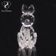 New items fox business gifts elephant romantic crystal love gift