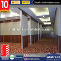 Australian standards commercial movable double glass partition wall sliding door