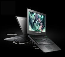 High Quality laptop gaming i7 15''Inch Netbook Notebook 8GB+1tb 2.6GHz up to 3.5GHz