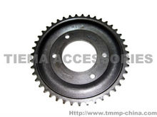 TMMP motorcycle MINSK 428-43T 4K TH=7MM inner hole 62+0.05-0.15mm big sprocket(A3 wire belt harden) [MT-0403-3922A] oem quality