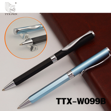 office & school supplies cheap promotional metal twist ball pen slim ball pen for hotel