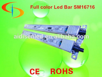 CE & RoHS High Quality 5050 LED Rigid Strip RGB, Aproved DC12V Aluminum Profile For LED Light Bar RGB