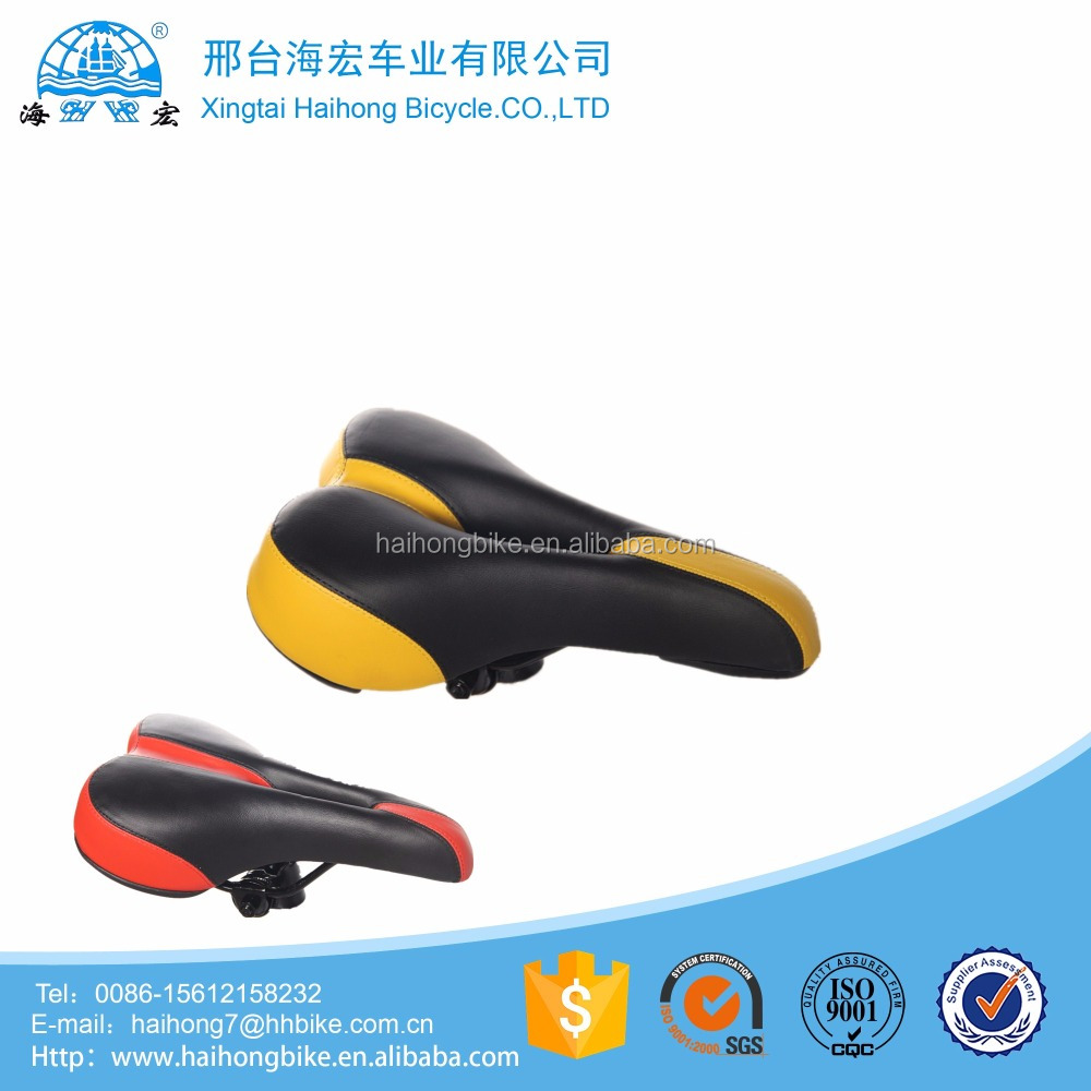 China cheap price colourful dirt bycicle seat/mountain bike saddle