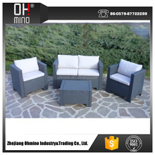 Synthetic handmade knits PE Outdoor rattan sofa