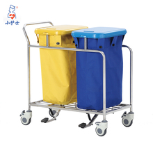 2017 New product hot sale hospital dirty linen trolley