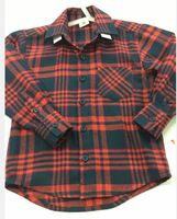 kids flannel check shirts casual flannel long sleeve shirts