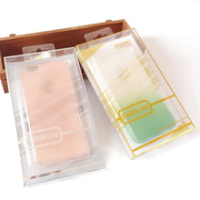 PVC/PET/PP Package Mobile Phone Case Power Printed Plastic Foldable Packaging Boxes Phone Blister Case
