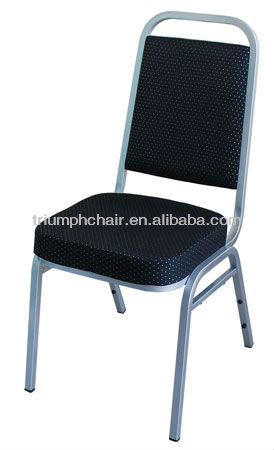 High Quality Stacking Fabric Banquet Chair/Metal Stacking High Back Banquet Chair/ Metal Stacking Dining Chair