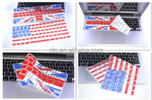 "UK National flag pattern silicone keyboard cover for MacBook Pro 15""(A1286), welcome OEM"