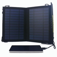14w Solar Charger Outdoor Travel Solar Laptop Charger For Mobile Phone