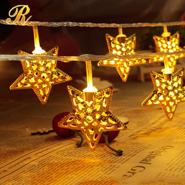 Fairy eid ramadan light star icicle light for sale