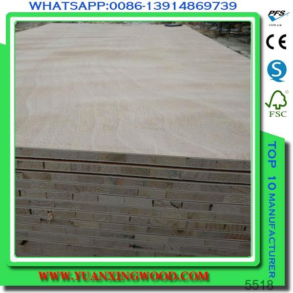 Blockboard price natural veneer block board tianye wood