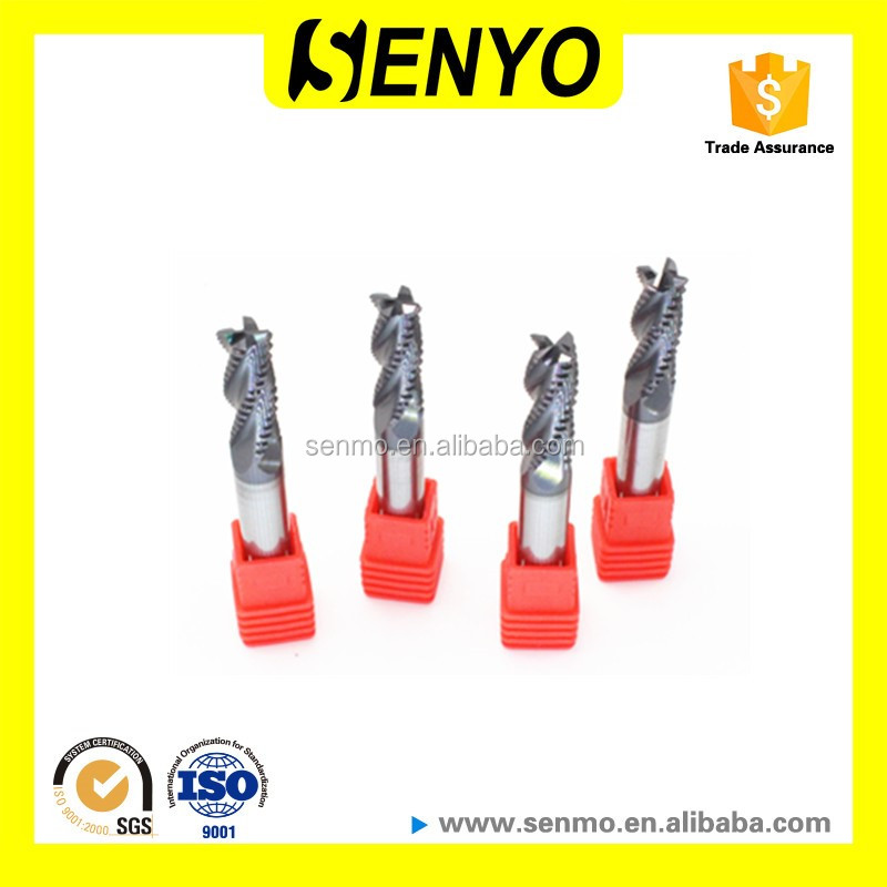 Senyo Solid Carbide Roughing End Mill Milling Cutter
