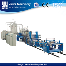 Pe/pet/eva/abs single layer sheet production line/extrusion machine/making machine