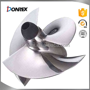 OEM service iron and stainless steel centrifugal pump impeller size