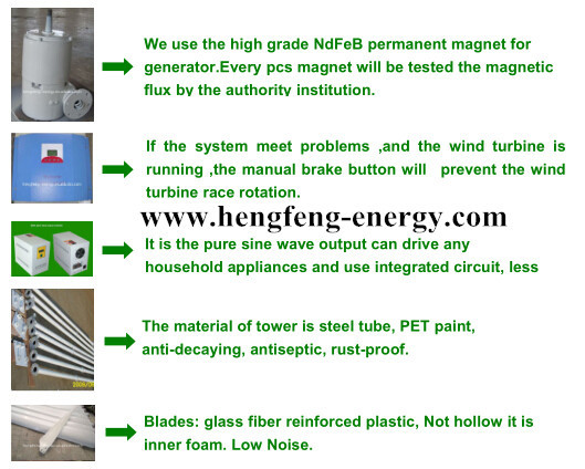 high power hot sale 20kw wind turbine prices