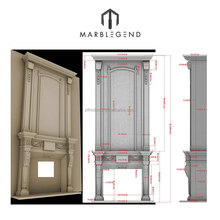 PFM marble fireplace mental installation instructions