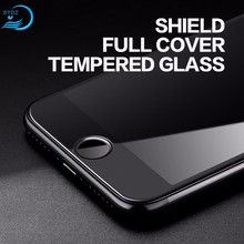 Durable Shield Full Cover For Iphone 7 7S Cell Phone Tempered Glass Screen Protector