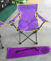 Portable Cheap Folding Chair With Cup Holder -- Hot Promotion Item