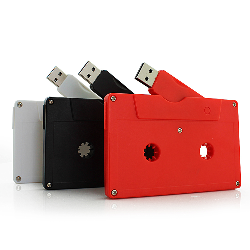 High-Speed USB 2.0 Memory Stick Cassette Tape USB Flash Drive 8GB 16GB 32GB